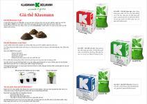 Hướng dẫn sử dụng Giá thể Klasmann